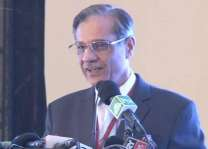Chief Justice of Pakistan addresses District Bar; stresses giving precedence to county