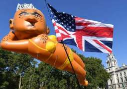 Londoners Launch Giant Air Balloon Depicting City Mayor to Protest Rising Crime