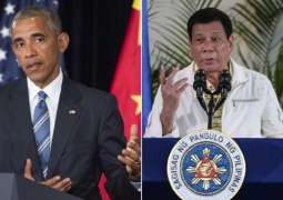 Philippine Leader Duterte Apologizes for Insulting Obama in 2016