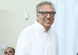 میں تحریک انصاف دا ای نہیں پورے پاکستان دا صدر آں:عارف علوی