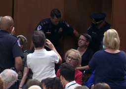 US Capitol Police Arrest 22 Protesters During Kavanaugh Hearing - Reports