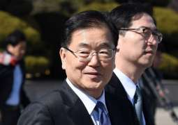 South Korean President's Envoy Meets With N. Korean Workers' Party Official - Reports