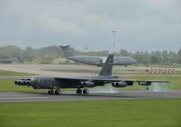 B-52 Stratofortress Aircraft, Personnel Arrive for Training in England - US Air Force