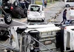 9 قتلى وأكثر من 340 مصابا في اليابان اثر إعصار