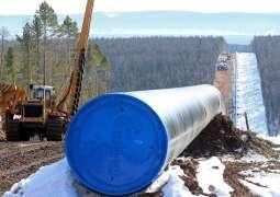 Gazprom Built 93% of Power of Siberia Pipeline - Statement