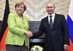 Kremlin Spokesman Says Putin, Merkel Had No Conversation on Syria Earlier on Thursday