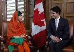 کینیڈین وزیر اعظم نے ملالہ نوں جہالت دے انھیریاں وچ تعلیم دی لو قرار دے دتا