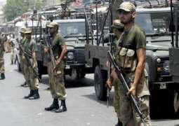 لاہور وچ پاک فوج تے رینجرز سد لی گئی
