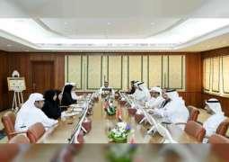 """""""اللجنة الاقتصادية"""" بعجمان تطلع على الخطط المستقبلية لمنطقة الزوراء"""