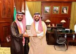 نائب أمير حائل يستقبل مدير عام المطارات الشمالية