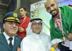 السعودية الأولى في البطولة العربية العسكرية السابعة في التايكوندو