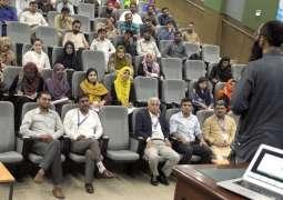 Graduate Seminar on Technology Innovation and Entrepreneurship: Ecosystem of Universities of Pakistan held at USPCAS-W MUET