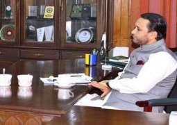 Chief Minister Gilgit Baltistan Hafiz Hafeezur Rehman  expresses satisfaction over arrangements for Muharramul Harram