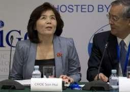 Russian Ambassador, N. Korean Deputy Foreign Minister Discuss UNSC Meeting on N. Korea