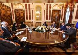 Amal Al Qubaisi, Chairman of St Petersburg Parliament discuss parliamentary cooperation