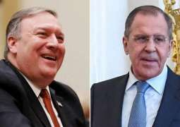 Pompeo Says Will Meet With Lavrov During UN General Assembly