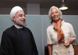 IMF Chief Meets Iranian President to Discuss Economic Challenges, Reforms