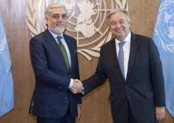 Afghan Chief Executive, UN Chief Meet at UNGA to Discuss Elections, Peace Process