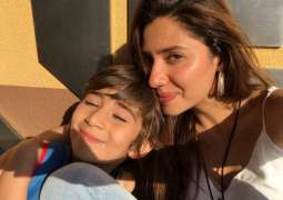 Mahira's son said something which will made her very emotional
