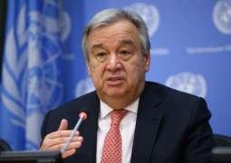 UN Secretary-General meets Saudi's Al Jubeir