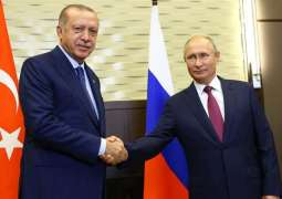 Erdogan Says Turkish-Russian Agreement on Idlib Being Successfully Implemented