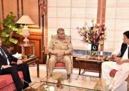 وزیر اعظم عمران خان تے آرمی چیف وچکار اہم ملاقات