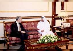Fujairah Ruler meets with Ambassadors, US Consul-General