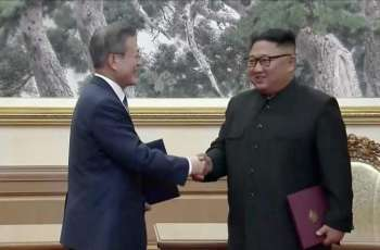 Leaders of two Koreas sign document after second talks in Pyongyang