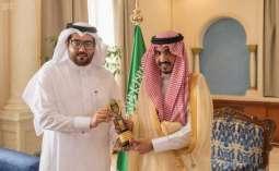 أمير الجوف يستقبل أمين وأعضاء مجلس شباب المنطقة