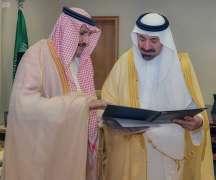 أمير نجران يبارك انطلاقة مشروع النقل الترددي إلى مطار أبها