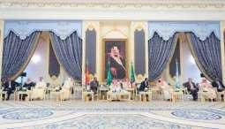 خادم الحرمين الشريفين يستقبل رئيس إريتريا ورئيس وزراء أثيوبيا