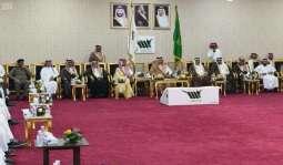 الأمير تركي بن طلال يلتقي منسوبي جامعة بيشة