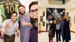 Shahid Afridi calls on UK authorities to discuss his NGO's projects