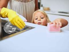 Cleaning products may disrupt kids' gut bacteria, lead to obesity