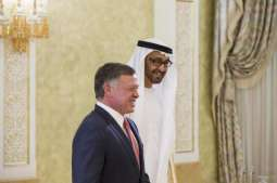 Jordanian King receives Abdullah bin Zayed in New York