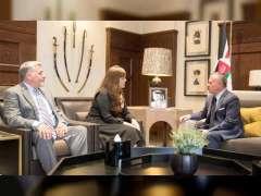 Jordanian King meets US arms control official