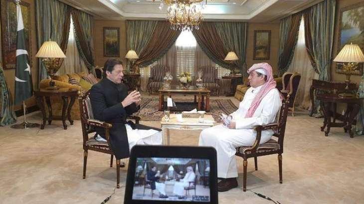 رئیس الوزراء الباکستاني عمران خان مستعد لحلّ التنازع في الیمن