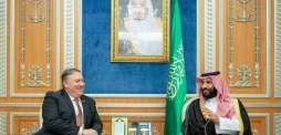 سمو ولي العهد يلتقي وزير الخارجية الأمريكي ويستعرضان العلاقات التاريخية والمستجدات في المنطقة والجهود المشتركة المبذولة تجاهها