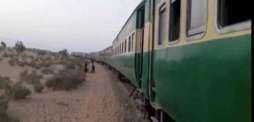 ملت ایکسپریس پٹری توں لتھ گئی ریلوے ٹریک بند ہون دی وجہ توں اپ تے ڈاؤن ٹریناں دا روٹ بدل دتا گیا