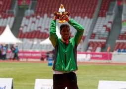 لاعب المنتخب السعودي لألعاب القوى أحمد عداوي يحقق الذهبية الأولى للسعودية بدورة الألعاب الآسيوية البارالمبية