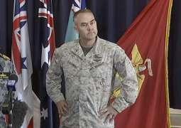 یتعطل قائد القوات الأمریکي لدي آسترالیا بشرب الخمر خلا قیادة السیارة