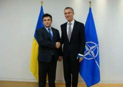NATO Chief to Meet Ukrainian Foreign Minister on Monday - Press Release