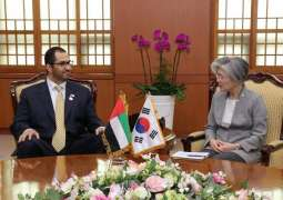 UAE, South Korea discuss accelerating ties