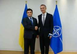Ukrainian Foreign Minister Meets With NATO Chief in Brussels - Kiev