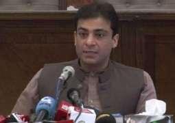 مریم جیل جا سکدیاں نیں تے علیمہ خان دا وی حساب دیو:حمزہ شہباز