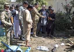 Afghan election candidate among four killed in bomb attack
