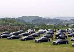 Auction of 48 Prime Minister House vehicles on Oct 25