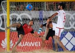 Beach Soccer 2019 season launch in Dubai