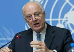 Syrian Ambassador Doubts De Mistura Departure to Affect Constitutional Committee Formation