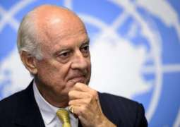 المبعوث الأممي إلى سوريا يتنحى عن منصب في أواخر نوفمبر المقبل